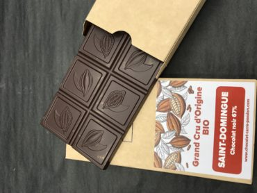 Tablette GRAND CRU D'ORIGINE – BIO –  SAINT-DOMINGUE – chocolat noir 67%