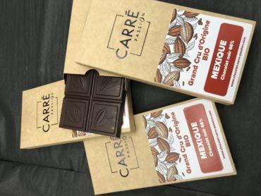 Tablette GRAND CRU D'ORIGINE – BIO – MEXIQUE – chocolat noir 66%