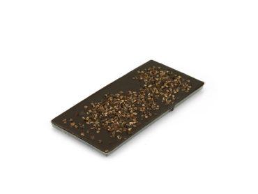 Tablette chocolat noir 66% minimum de cacao et éclats de fèves de cacao
