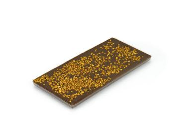 Tablette pollen – chocolat au lait 38% minimum de cacao