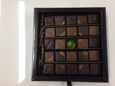 Coffret Carré Passion 25 chocolats de Plantation
