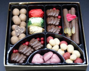 Boîte gourmandise Saint-Valentin