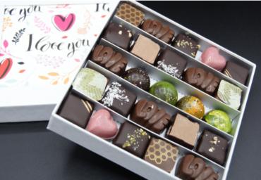 Coffret Saint Valentin – 25 chocolats assortis