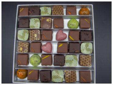 Coffret Fête des Mères – 36 chocolats assortis